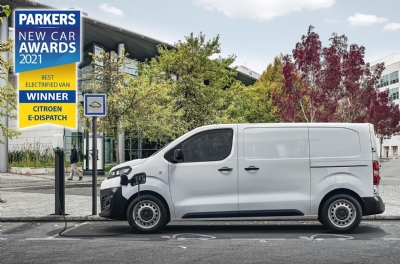 Citroen has won 2 new esteemed LCV awards with Parkers