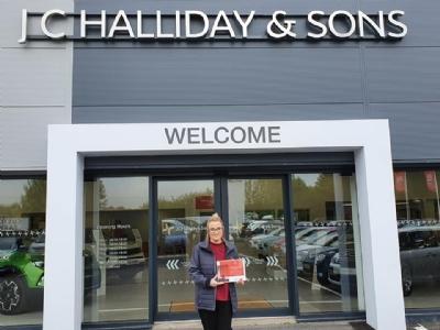 Citroen Customer Service Pledge winner