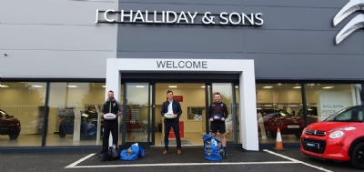 Proud to support City of Derry Rugby Club