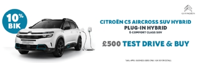 Citroen C5 Aircross SUV Hybrid - £500 Test Drive & Buy