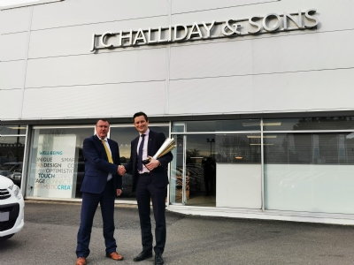 J.C.Halliday & Sons - Citroen Golden Chevron Winners