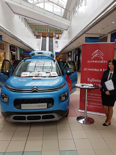 Small SUV of the Year 2018: Citroen C3 Aircross at Foyleside this week!