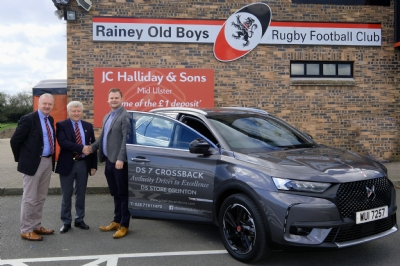 JC Halliday & Sons Mid-Ulster sponsors of Rainey Old Boys R.F.C.