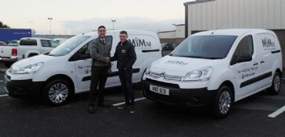MIM Engineering take delivery of 2 more Berlingo