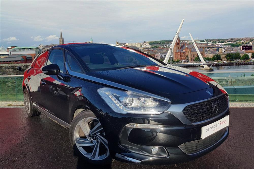CITROEN DS5 Hatchback 5-Door 2.0 BlueHDi 180 Elegance EAT6