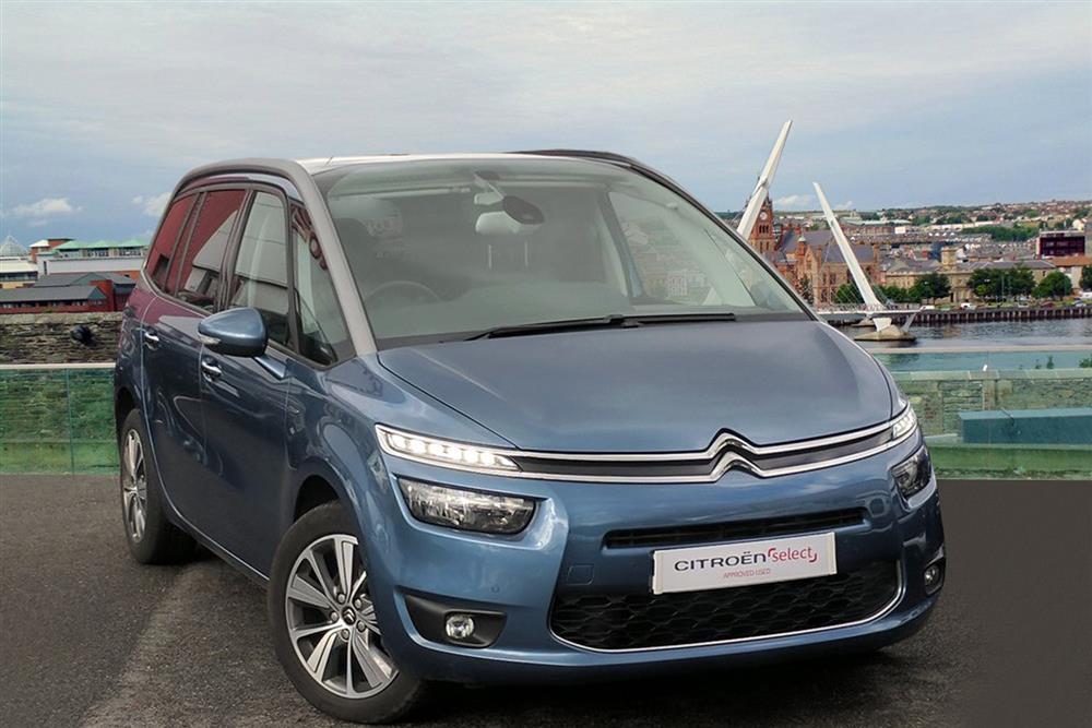 CITROEN New Grand C4 Picasso MPV 5-Door 1.6 BlueHDi (120ps) Exclusive+