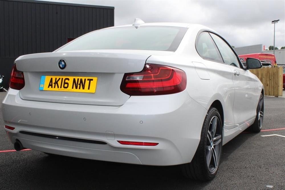 bmw 2 series coupe 1 5 136bhp 218i sport for sale at j c. Black Bedroom Furniture Sets. Home Design Ideas