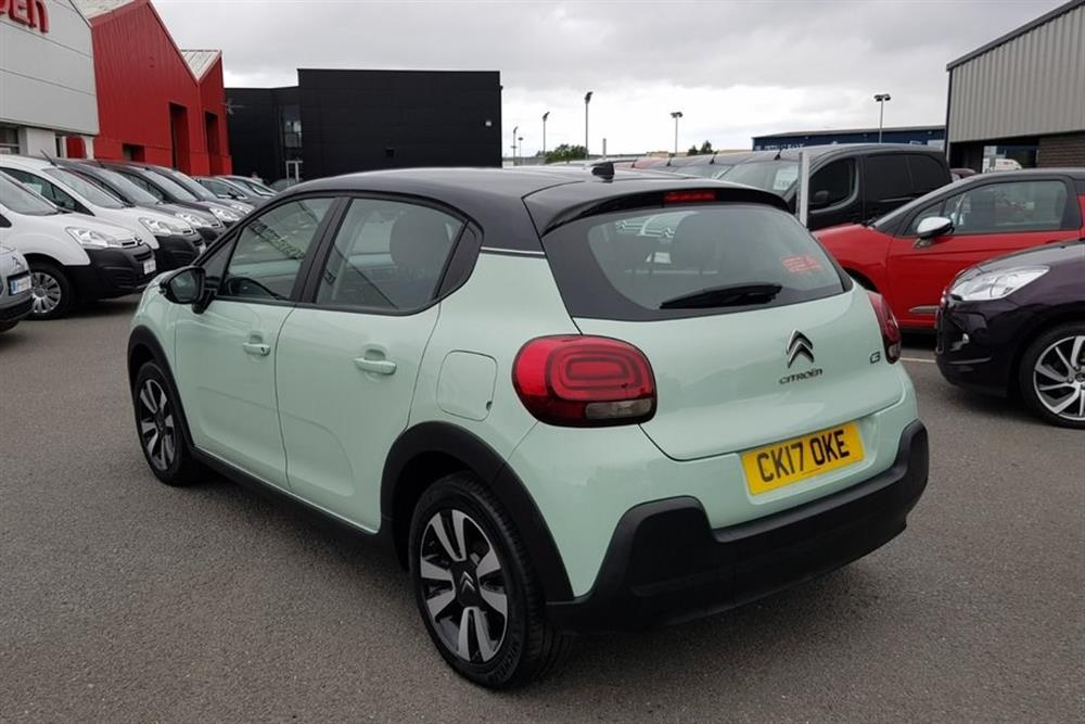 Driving Test Car Hire >> CITROEN New C3 Hatchback 5-Door 1.2 (82bhp) Puretech Feel for sale at J.C Halliday & Sons, used ...