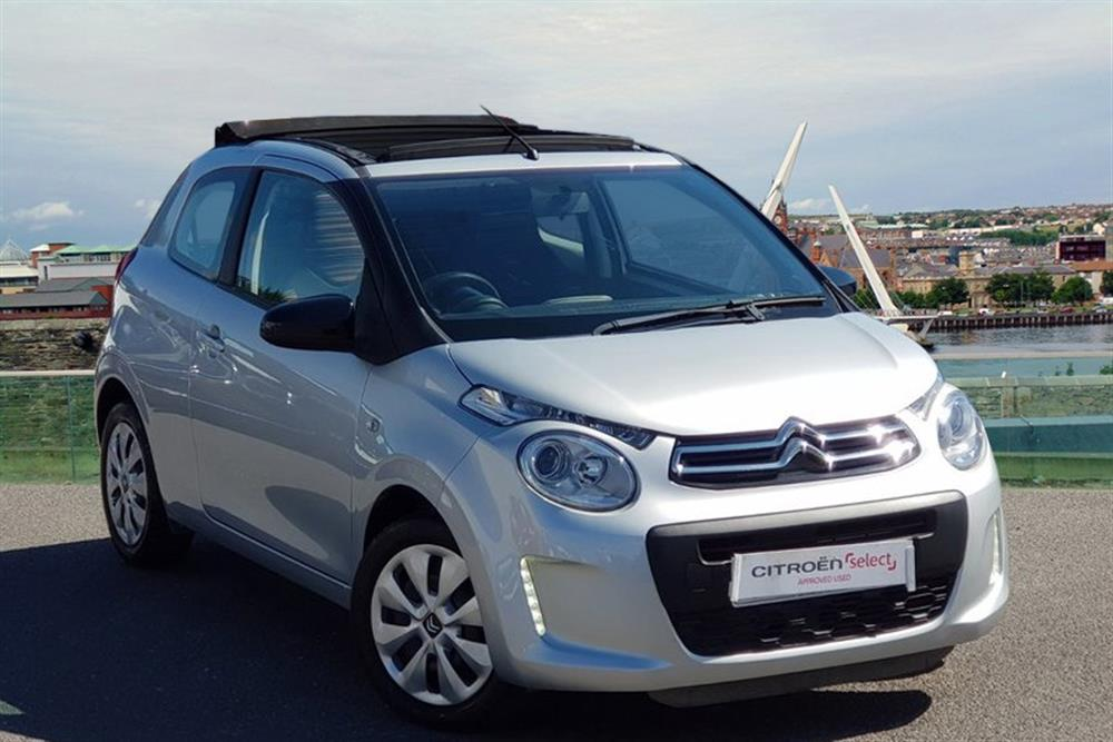 citroen c1 hatchback 3 door 1 0 vti airscape feel for sale at j c halliday sons used car