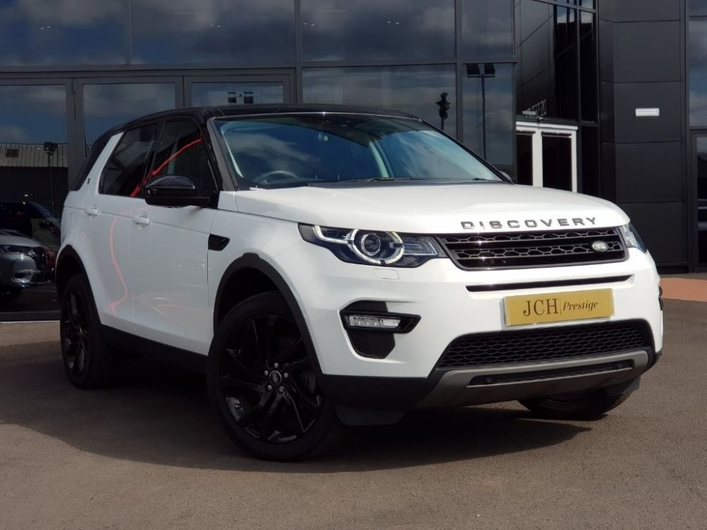 Land Rover Discovery Sport 2.0 TD4 HSE Black 4X4 (s/s) 5dr