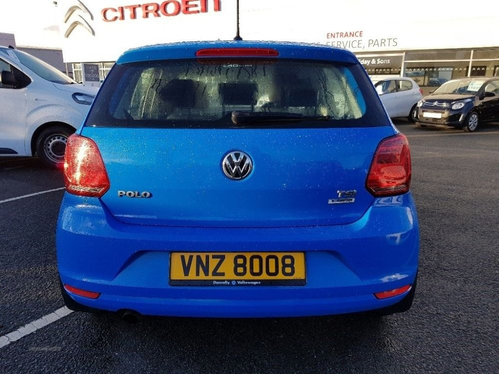 Volkswagen Polo 1 2 Tsi Bluemotion Tech Se S S 5dr For
