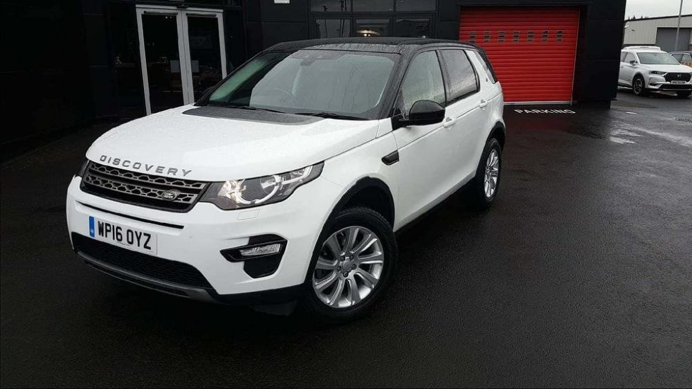 Land Rover Discovery Sport 2.0 TD4 SE Tech 4X4 (s/s) 5dr
