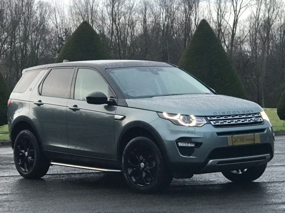 Land Rover Discovery Sport 2.0 TD4 HSE Auto 4WD (s/s) 5dr 7 Seat