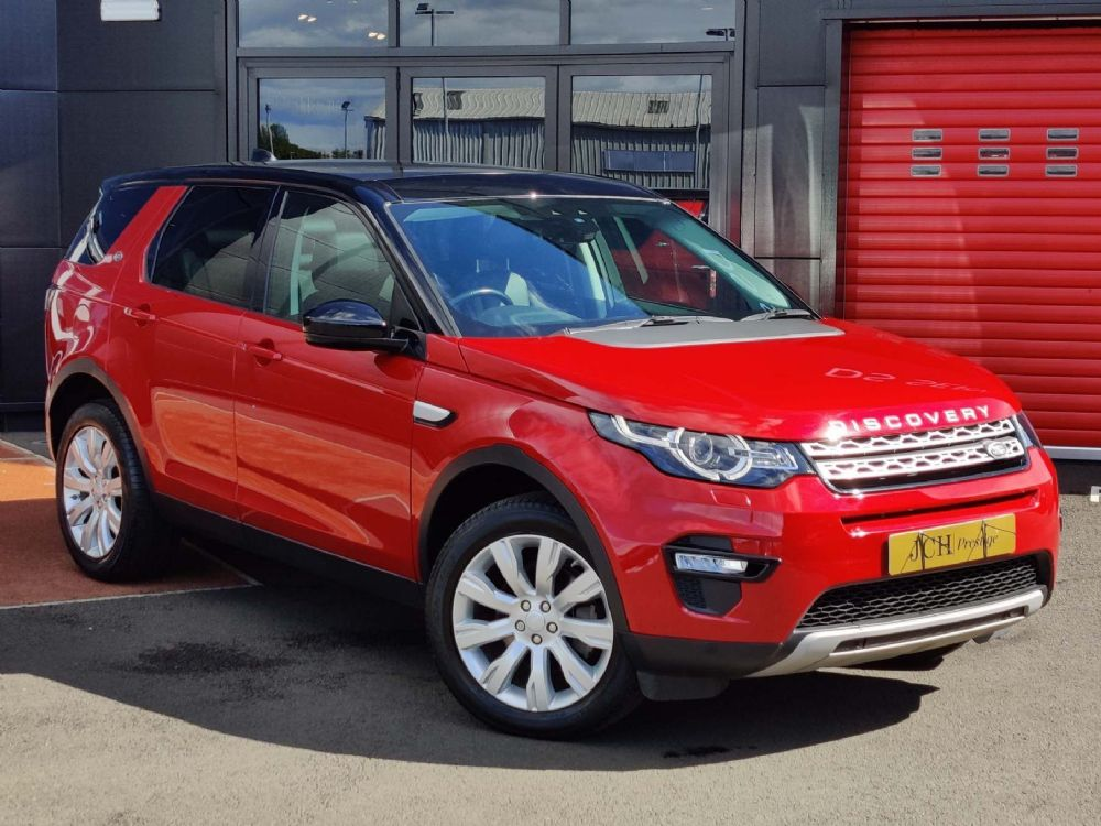 Land Rover Discovery Sport 2.0 TD4 HSE 7Seat 4WD (s/s) 5dr 7 Seat