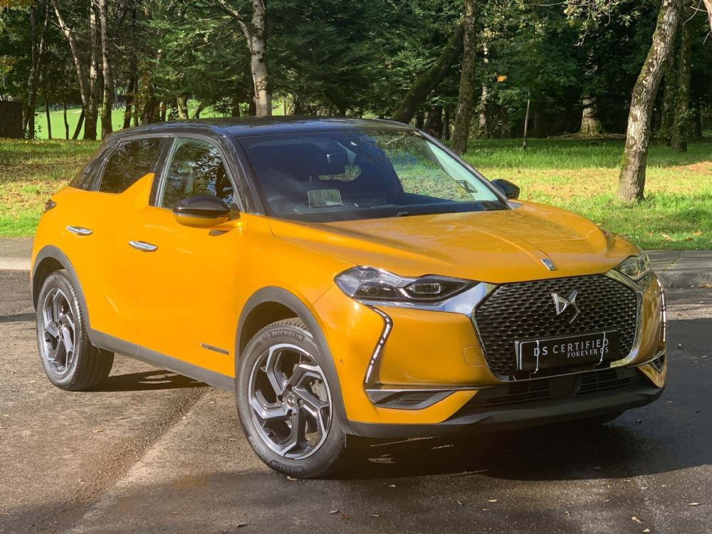 DS 3 CROSSBACK 1.2 PureTech Ultra Prestige Crossback EAT8 (s/s) 5dr