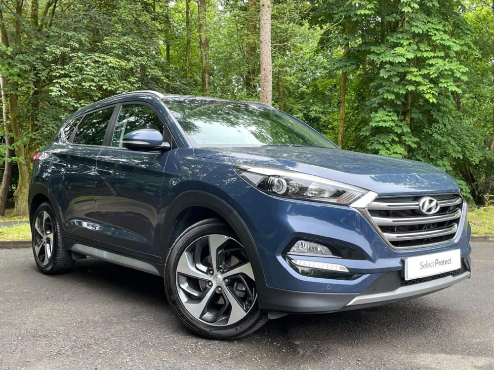 Hyundai TUCSON 1.7 CRDi Blue Drive Premium DCT (s/s) 5dr