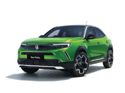 VauxhallNew MokkaMamba Green