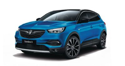 VauxhallNew Grandland X Hybrid4Topaz Blue