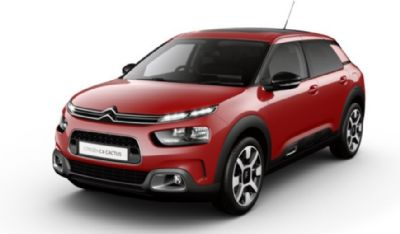 Citroën New C4 Cactus Hatch Sport Red