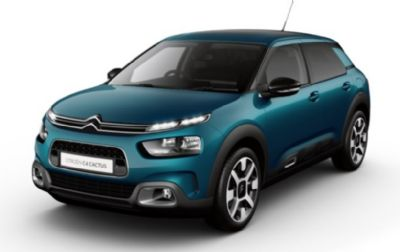 Citroën New C4 Cactus Hatch 	Emerald Blue Metallic